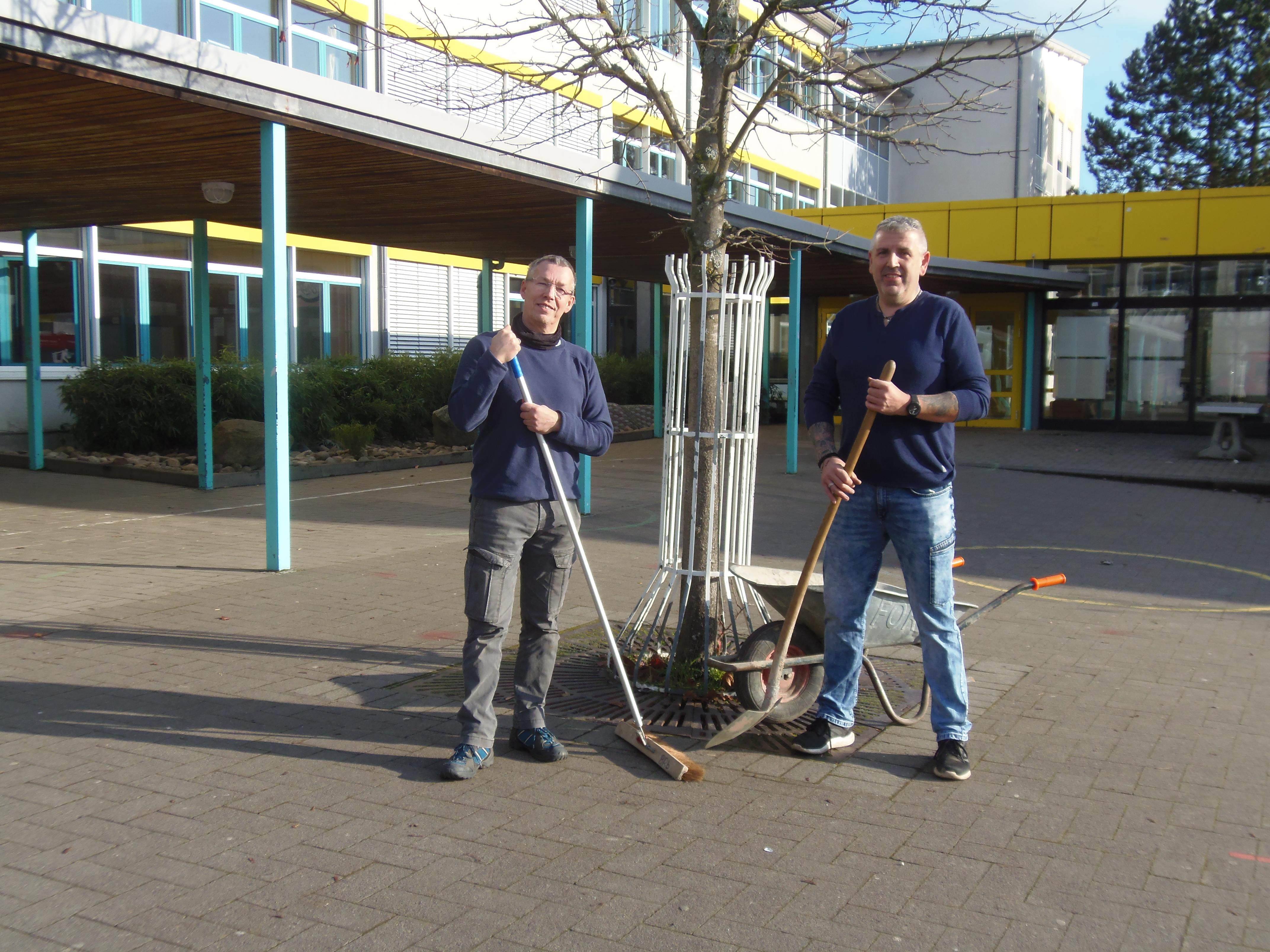 Herr Fricke und Herr Jeßberger